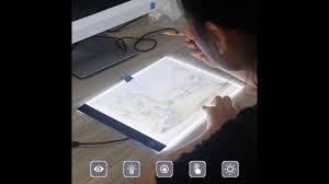 Light Box Drawing Tracing A4 Led Light Box Drawing Board Art Stencil Tracing Copy Table