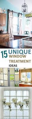 Window Treatment Kitchen 17 Best Ideas About Unique Window Treatments On Pinterest