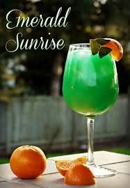 celebrate st patrick s day in style with this beautiful spin on a tequila sunrise
