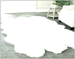 round sheepskin rugs rug silver faux icelandic australia
