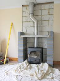 stove flue twinwall to ceiling