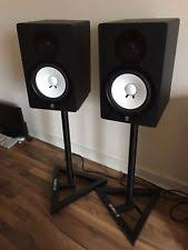 yamaha hs80m. yamaha hs80m active studio monitors (pair) great condition c/w free stands! hs80m