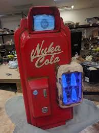 Nuka Cola Vending Machine Delectable Learn How To Build A Badass Fallout Nuka Cola Vending Machine PC
