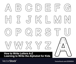 These 4 pages teach the letter 'aa' and its vowel sounds. Alphabet Tracing Letters Step Royalty Free Vector Letter Worksheets Pdf Traceable Printable Coloring Pages L Preschool Oguchionyewu