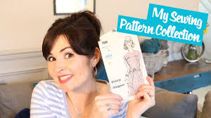 Modern Sewing Patterns Unique My Sewing Pattern Collection Vintage Modern Vlog YouTube