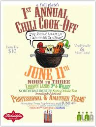 1st annual chili cook off. Unique Off On Saturday June 11 A Full Plate Caf Will Be Hosting Its 1st Annual  Chili CookOff  Cook Off L