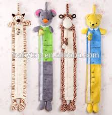 Children Plush Animal Toys Doll Height Scale Chart Ruler Measure Buy Kids Height Measurement Plush Height Tape Measure Baby Height Measure With