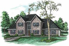 164 1126 4 bedroom 3116 sq ft european house plan 164 1126 front