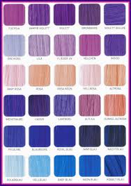 Shades Of Purple Colour Chart Hair Colors Astonishing Purple Color Chart Shade For