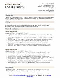 Microsoft Resume Example Medical Assistant Resume Samples Qwikresume