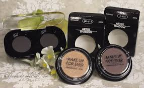 make up for ever artist shadow me 512 and s 556