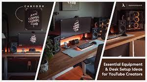 Desk Setup Ideas for YouTube Creators ...