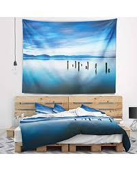 Image result for cloudy blue bedspread