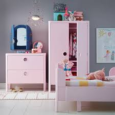 childrens pink bedroom furniture. A Kids\u0027 Bedroom With BUSUNGE Wardrobe, Chest Of Drawers And Bed In Pink Childrens Furniture T