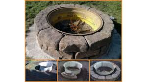 rustic fire pit. Backyard Landscaping Design Ideas Fresh Modern And Rustic Fire Pit