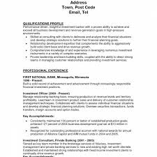 Resume Book Investment Banker Job Description Template Furniture Sales 13