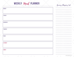 meal planner free how to start meal planning in 3 simple steps natalies happy health