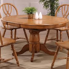 Eci Furniture Dining Solid Oak Single Pedestal Dining Table
