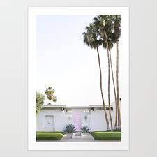 that pink door palm springs art print