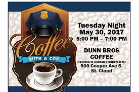 Coffee With A Cop Flyer Have Coffee With A Cop In St Cloud