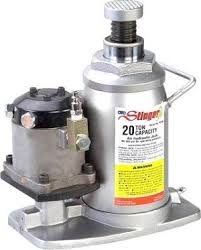OTC 4321C - OTC4321C 20 Ton Air-Assist Hydraulic Bottle Jack