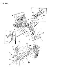 1989 chrysler lebaron gtc alternator mounting