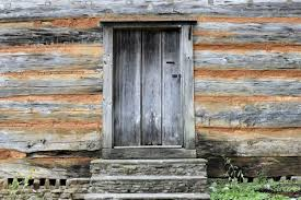 old wood wall and door background