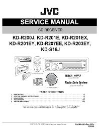 jvc ks f171 service manual free download, schematics, eeprom Jvc Kd S16 Wiring Diagram Jvc Kd S16 Wiring Diagram #34 jvc kd s15 wiring diagram