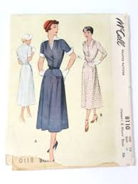 1940s Dress Patterns Custom Vintage 48's Dress Patterns At RustyZipperCom Vintage Clothing