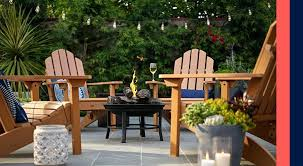 backyard table and chairs interesting design garden