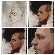 allaprima class demo at savaleriatelier tonight oil painting tutorialspainting techniquesart