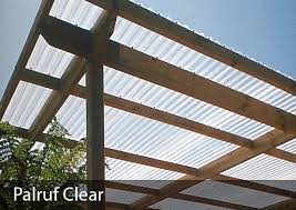 use for roofing or siding on open sided well ventilated structures