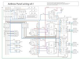 anbrew garage brewery build 100l single tier eherms home brew i just recently finished my wiring diagram