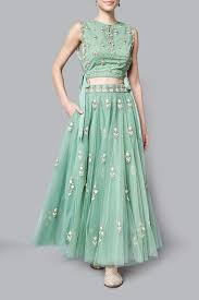 Designer Crop Top Skirt Crop Top And Skirt Traditional With Dupatta Ficts