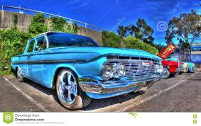 Classic 1960s American Chevy Bel Air Editorial Photo - Image: 79958376