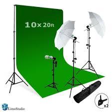 lighting set. Screen Background Support Kit 600W Output 3 Point Studio Photography Umbrella Lighting Kit, AGG408 : Photo Equipment Camera \u0026 Set U