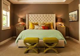 a contemporary bedroom with brown accent there are brilliant combinations in the cushions to counter contemporer ideas large r31 ideas