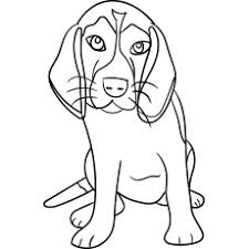 A happy dog in its wooden house. Top 25 Free Printable Dog Coloring Pages Online