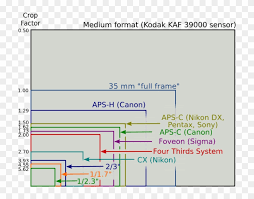 Dslr Sensor Size Chart Canon Nikon Sony Pentax Panasonic Sensor Size Comparison