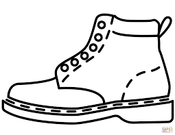 Small Picture Clothes and Shoes coloring pages Free Coloring Pages