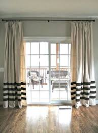 marvellous door ds patio door curtain rods long ds for door with mocha color curtains and