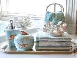 Decorative Bathroom Tray Decorations Seashell Bath Decor Seashell Decorative Bath Towels 61