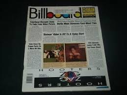 Details About 1989 November 25 Billboard Magazine Hot 100 Charts Rock Pop Music R 1141