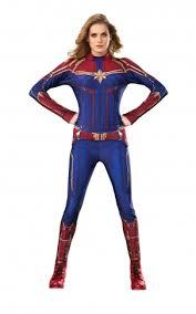 Captain Marvel Hero Suit (Blue/Red)