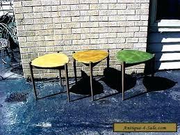 vintage van stacking tables guitar pick mid century modern table 1 end side for guit home design guitar pick table