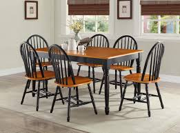 Better Homes And Gardens Autumn Lane Farmhouse Dining Table Black - Dining room sets with colored chairs