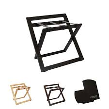 luggage rack with back stand