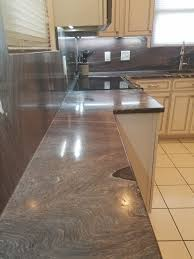 kitchen remodel with granite counter top and back splash in baltimore md