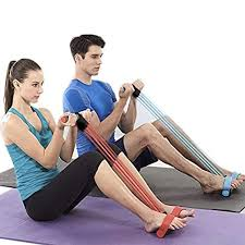 ivyacen <b>Fitness</b> Sit-up <b>Exercise</b> Equipment <b>Pedal Resistance Band</b> ...