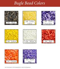Bead Color Chart Bugle Beads Limited Quantities 20 Off
